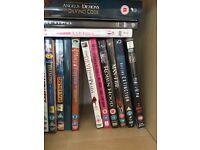 Over 70 DVD's & Blu Rays