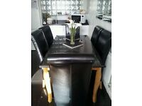 House of Fraser dining table