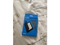 Kindle paperwhite case leather - brand new
