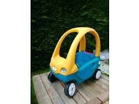 Little tikes cozy coupe toddler car