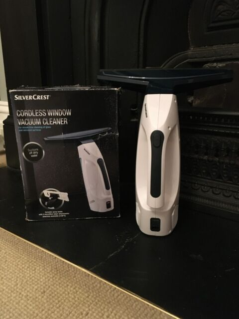 Silvercrest Cordless Window Vacuum Cleaner 3.7v, Lithium Rechargeble
