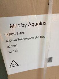 Aqualux 900mm shower tray