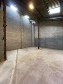 TO LET- Industrial Unit With Secure Yard & Parking. CCTV.