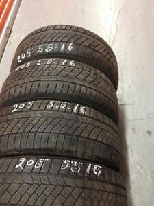 4 Continental winter tires:205/55R16