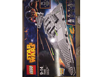 Lego Movie and Star Wars sets for sale. New Sealed boxes. Retired sets.