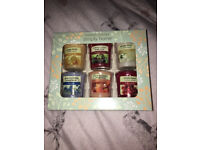 2 BOXES YANKIE votive candles 1 full box of 6 other box of 5 will post