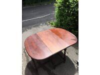 Reduced!! Folding Oak Dining Table