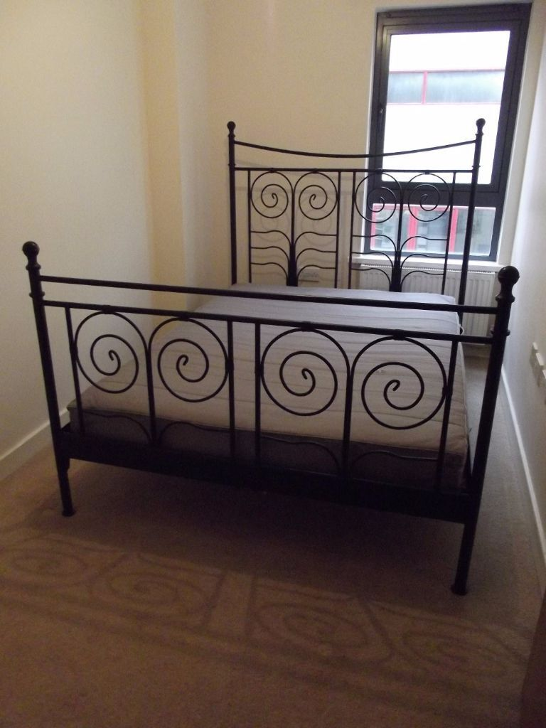 needs to be gone asap ikea u0027noresund u0027 double bed frame with