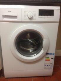 LOGIK L612WM16 Washing Machine - White- Perfect Working Order- In Warranty