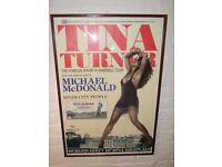 Tina Turner original Poster