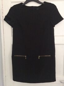 Woman's black tunic dress