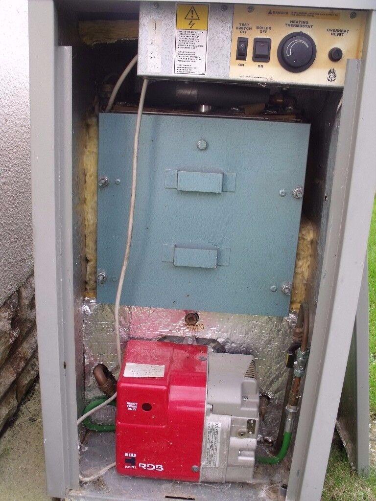 Grant Vortex Condensing Oil Outdoor Boiler