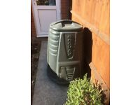 Two garden composters