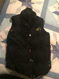 Superdry body warmer Size S