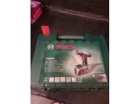 Bosh cordless battery drill driver PSR 18 v