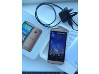 Brushed Gold HTC One Mini, in very good condition. Original box.