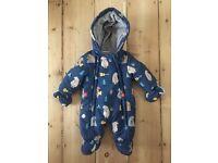 John Lewis baby snow suit - newborn size