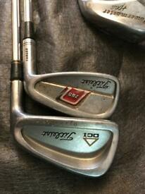 Putting wedges and sand wedges used golf clubs