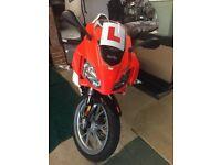 Geared learner motorbike 50cc