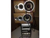 Cd, tape player radio