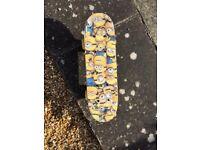 Minions satchel skateboard