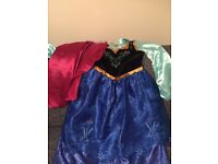 Frozen Anna dressing up costume