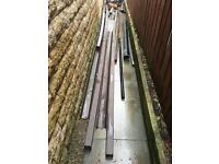 Plastic guttering / down pipes /
