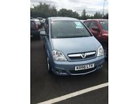 VAUXHALL MERIVA 1.7 CDTI DESIGN 5 DRS. PRIVACY GLASS, SUNROOF, ALLOY WHEELS, AIR CONDITIONING,