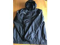 KIDS PUMA BLACK WATERPROOF JACKET