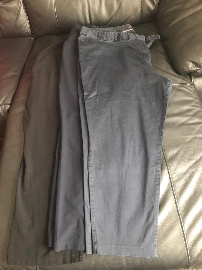 Ladies work trousers x3 £5.00 each