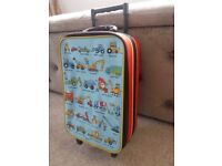 Toddler boy's holiday suitcase / trolley bag *by premium brand Tyrell Katz*