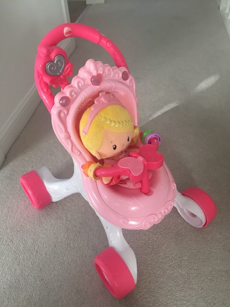 Fisher Price Buggy and Doll