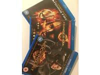 Hunger games 1 to 3 blue ray