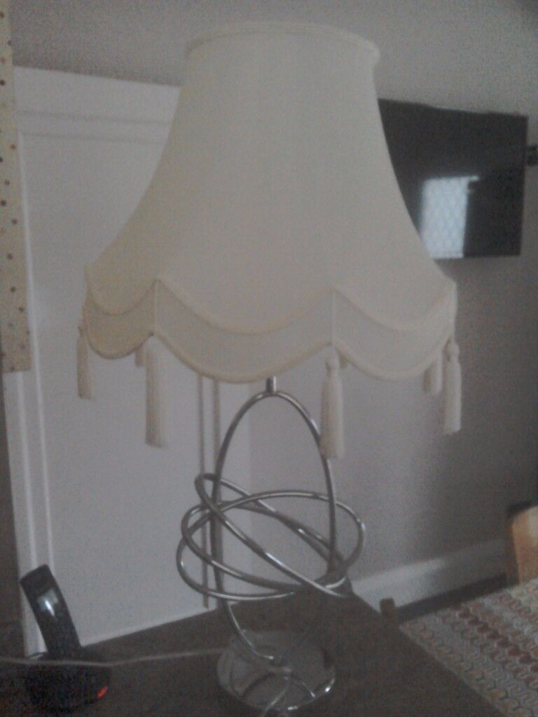 Lampshade and stand