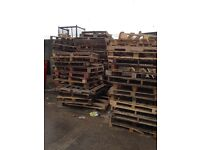 Wood Pallets FREE to collector