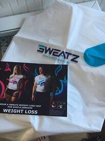 Weight loss sweatz vests