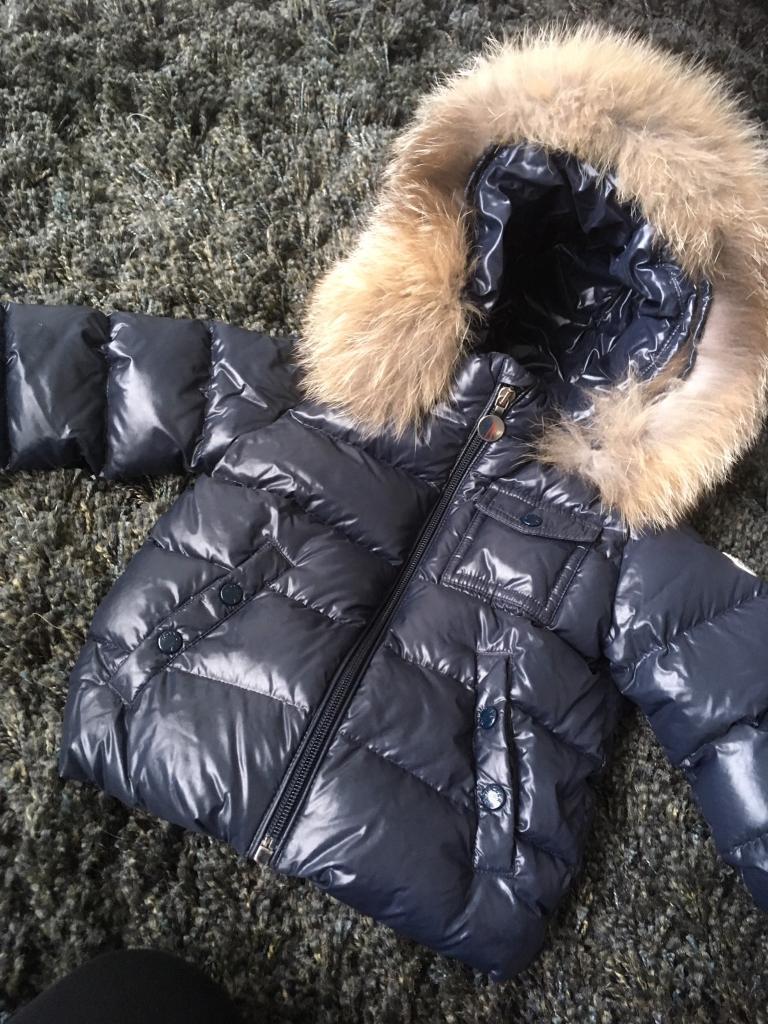f170c595db4e Genuine Moncler Baby Jacket