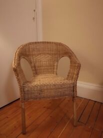 Two Rattan Chairs in Excellent Condition