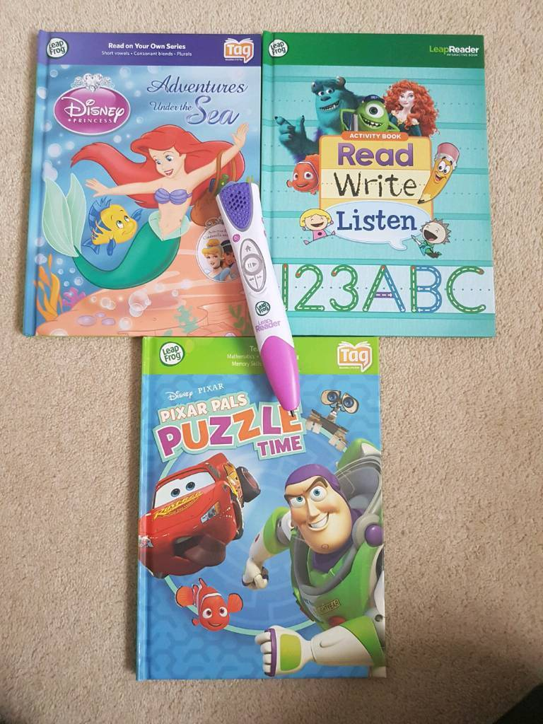 Leapfrog tagin Wooburn Green, BuckinghamshireGumtree - Leapfrog tag reader and 3 books. Immaculate condition