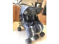 Maclaren Tecnho Twin Double pushchair Stroller