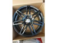Audi rs4 style alloys