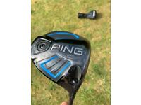 Ping G series driver with stiff shaft