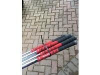 Left handed golf iron set