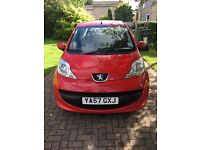 2008 Peugeot 107 57 plate, to be sold ASAP