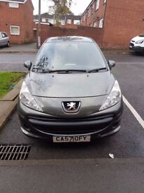 For Sale Peugeot 207 Good condition 2008 Year.