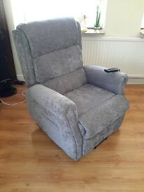 Leightons rise recliner armchair