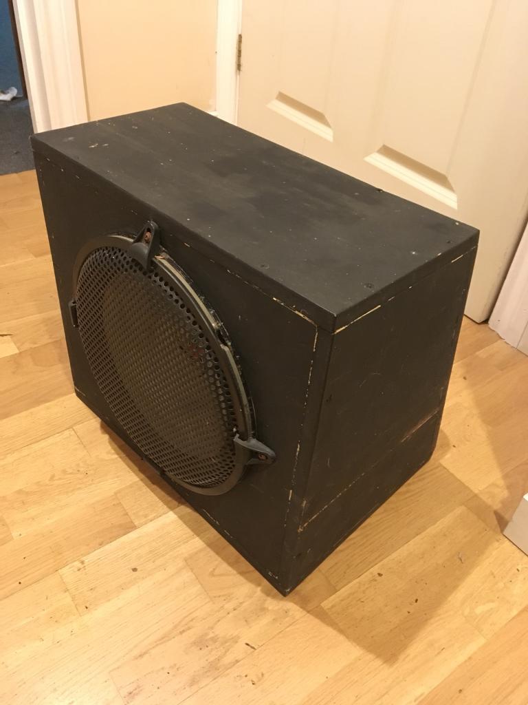 Car Subwoofer Amplifier And Wiring Kit In Norwich Norfolk Gumtree Speakers