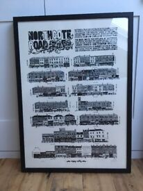 Vic Lee 'Northcote Road' framed print