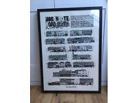 Vic Lee 'Northcote Road' framed print