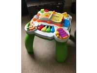 Leapfrog learn and groove play activity table